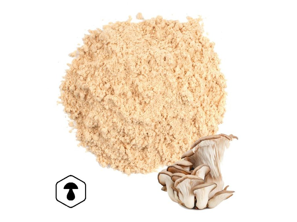 LifeChi - Hlíva ústřičná (Pleurotus ostreatus) extrakt v prášku 50 g