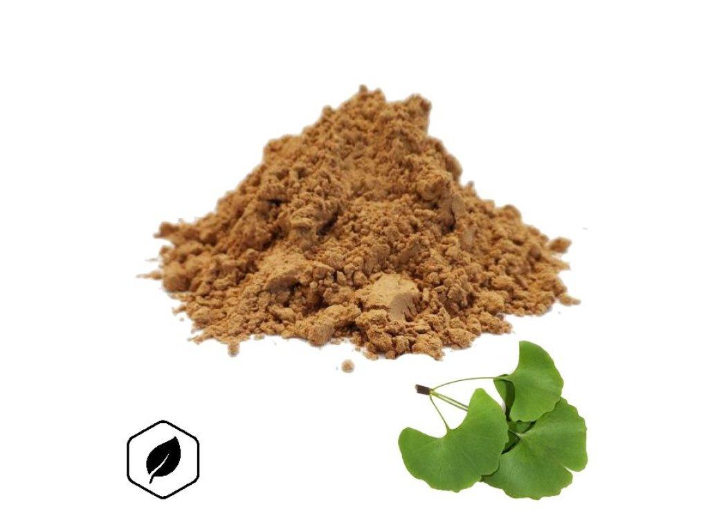LifeChi - Jinan dvoulaločný (Ginkgo biloba L.) extrakt v prášku 50 g