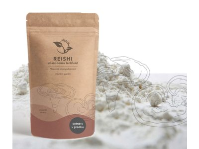 LifeChi - Reishi (Ganoderma lucidum) extrakt v prášku 50 g
